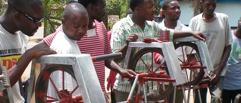 Training in Rope pump production