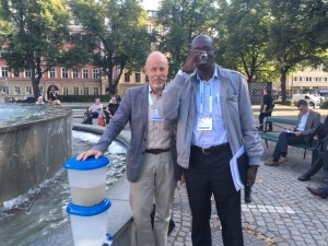 Water filter demo Stockholm